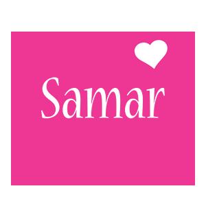 Samar love-heart logo