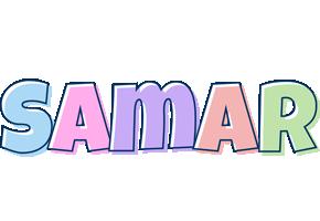 Samar pastel logo