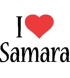Samara i-love logo