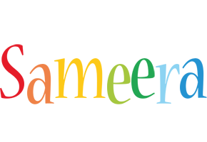 Sameera birthday logo