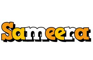 Sameera cartoon logo