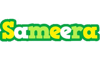 Sameera soccer logo