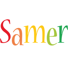 Samer birthday logo