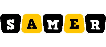 Samer boots logo