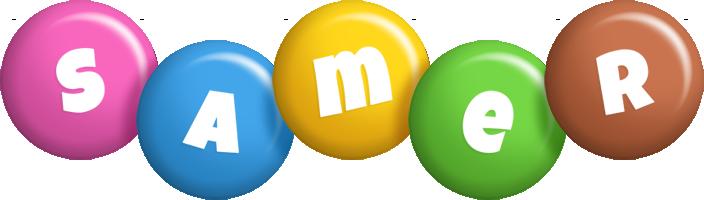 Samer candy logo