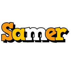 Samer cartoon logo