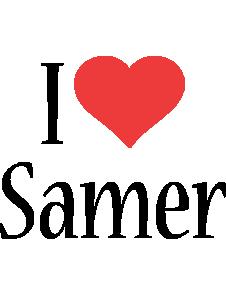 Samer i-love logo