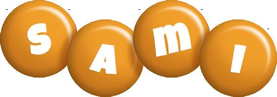 Sami candy-orange logo