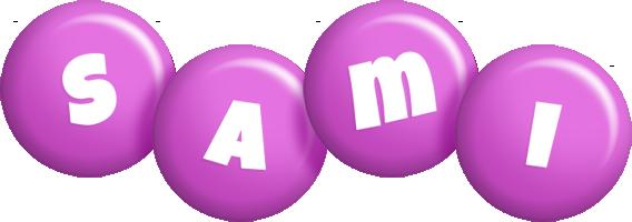 Sami candy-purple logo