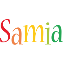 Samia birthday logo