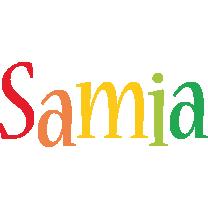 Samia birthday logo