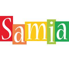 Samia colors logo