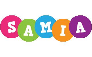 Samia friends logo