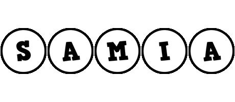 Samia handy logo