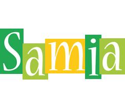 Samia lemonade logo