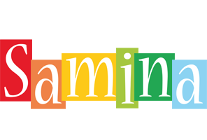 Samina colors logo