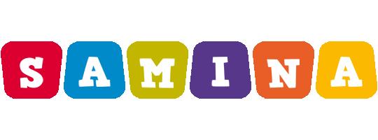 Samina kiddo logo