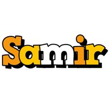 Samir cartoon logo