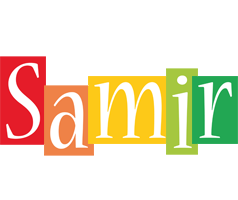 Samir colors logo