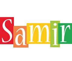 Samir colors logo
