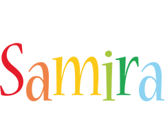 Samira birthday logo