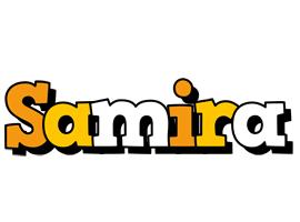 Samira cartoon logo