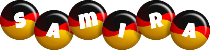 Samira german logo