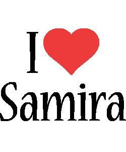 Samira i-love logo