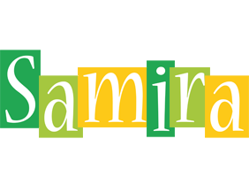 Samira lemonade logo