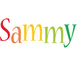 Sammy birthday logo