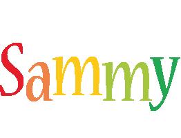 Sammy birthday logo
