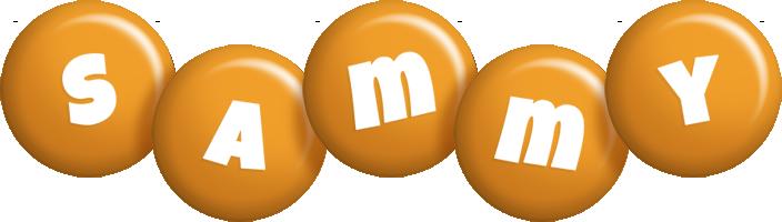 Sammy candy-orange logo