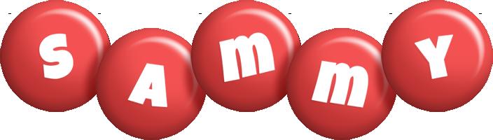 Sammy candy-red logo