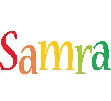 Samra birthday logo