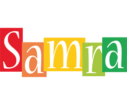 Samra colors logo