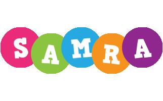 Samra friends logo