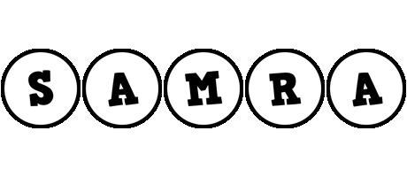Samra handy logo