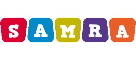 Samra kiddo logo