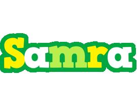 Samra soccer logo
