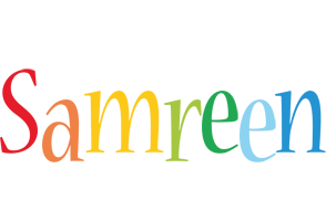 Samreen birthday logo