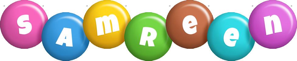 Samreen candy logo