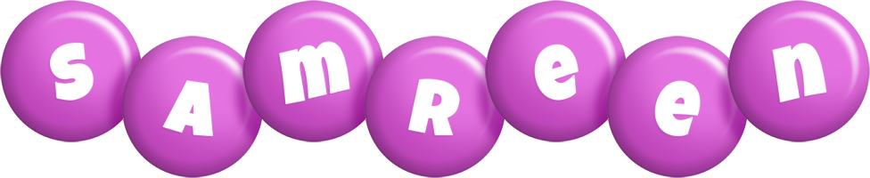 Samreen candy-purple logo