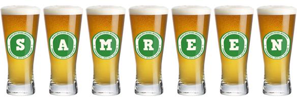 Samreen lager logo