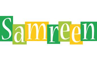 Samreen lemonade logo