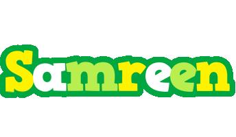 Samreen soccer logo