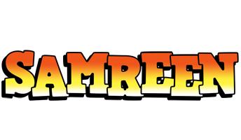 Samreen sunset logo