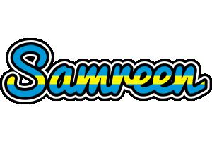 Samreen sweden logo