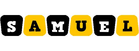 Samuel boots logo