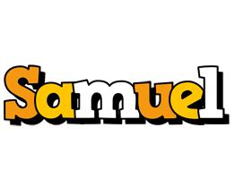 Samuel cartoon logo