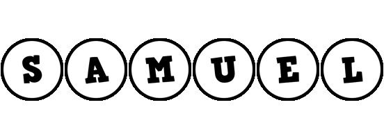 Samuel handy logo